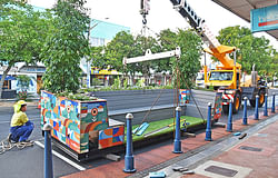 Parklets to attract visitors, shoppers back to CBD