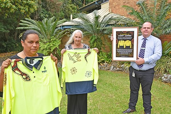 New scholarship and work shirt pay tribute to Cory James