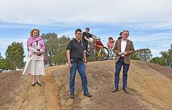 New $100,000 pump track for Nesbitt Park