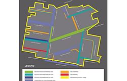 Map to assist with parking in Lismore Hospital precinct