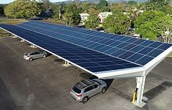 Federal grant funds solar shade in CBD carpark