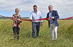 South Lismore Flood Mitigation Project complete