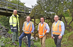 $10 million State grant to replace ageing wooden bridges